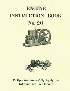 Witte Engine Instruction Book No 20