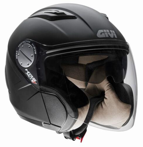 GIVI CASCO JET COMFORT-J X.07 NERO OPACO MOTO SCOOTER HELMET MATT BLACK