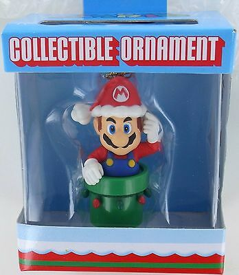 SUPER MARIO Christmas Ornament Holiday Nintendo Bros ...