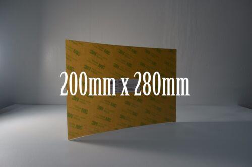 3D Printer Build Surface 3M 468MP Tape Pre-applied PEI Sheet Amber PEI
