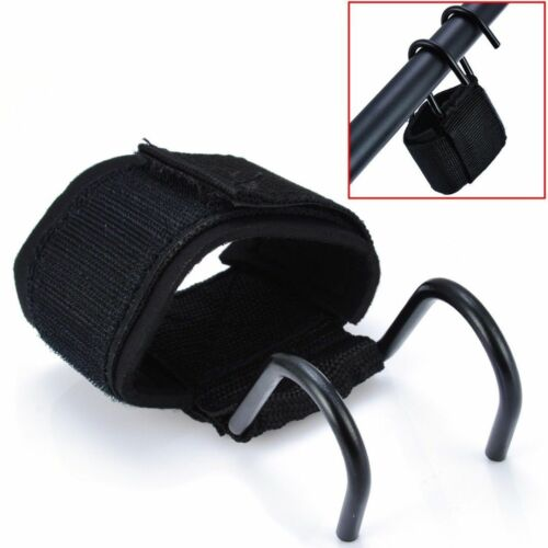 Weight Lifting Hook Grips Straps Gloves Exercise Gym Wrist Support Hand Wrap New