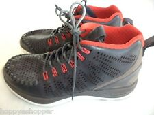 Nike Lunar Chenchukka Men's 7 Hi-Tops Sneakers Leather Gray/Red 553553 Vietnam