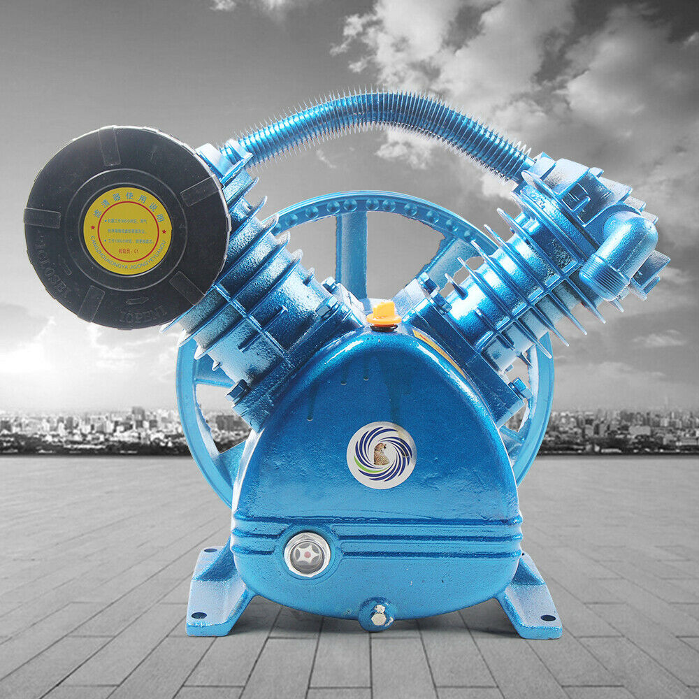 Universal 5.5HP 175PSI VType Twin Cylinder Air Compressor Pump Head Double Stage. Buy it now for 299.05
