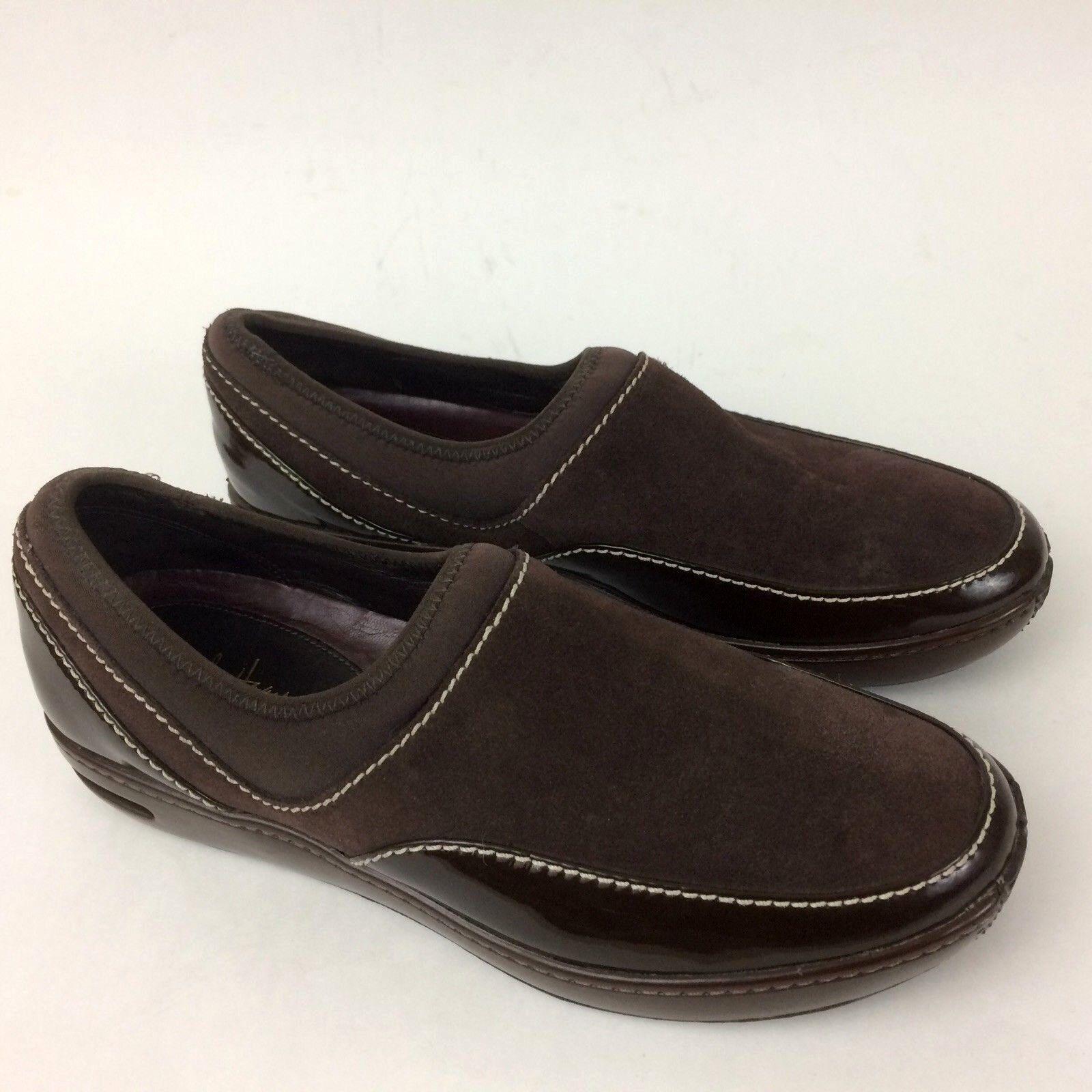 Cole Haan N. Air Kadin Womens Waterproof Loafers Slip On 8B Dark Chocolate