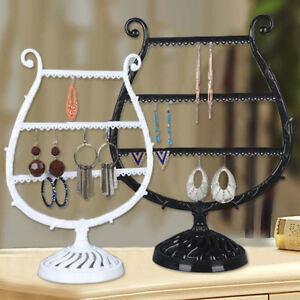 Organizer Schmuckständer Display Ohrring Halter Piano Show Rack Halskette Ring