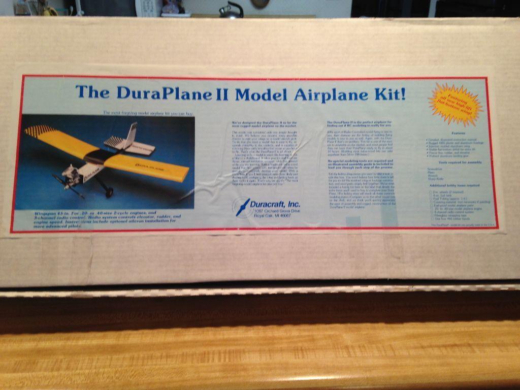 nuovo R C Duracraft Dura Plane II Trainer  Kit  Offriamo vari marchi famosi