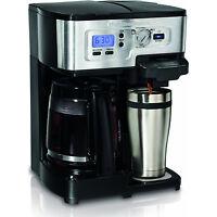 Hamilton Beach 12-Cup 2-Way FlexBrew Coffee Maker - Manufacturer Refurbished
