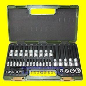 PROXXON-23290-Bitsatz-Nusssatz-HX-INHEX-TX-Torx-6-3mm-1-4-034-12-5mm-1-2-034-NEU