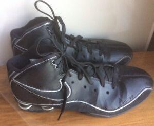 hot sale online 36f81 9ee74 Image is loading Mens-Nike-Shox-Deliver-Black-Running-Shoes-Size-