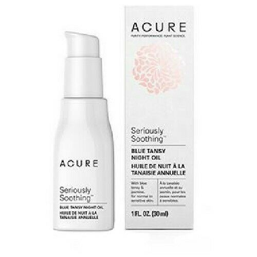 Acure Seriously Soothing Blue Tansy Night Oil 1 FL Oz