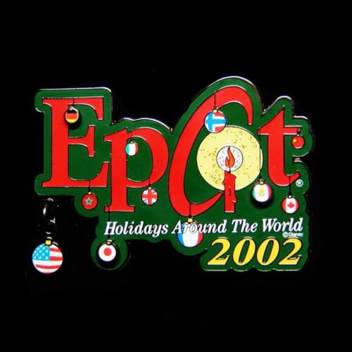 2002 EPCOT Holidays Around The World Disney Pin LE 3000