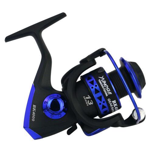 Spinning Fishing Reel L//R Semi-metal Fold Rocker Arm Rough Line Zinc Alloy Gear