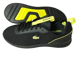 Lacoste-LT-Spirit-2-0-317-4-SPM-Mens-Trainers-Shoes-Black-RRP-85