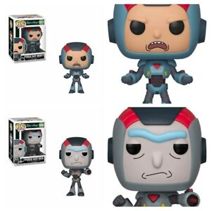 Rick-and-Morty-Purge-Suit-Rick-566-amp-Purge-Morty-567-2X-SET-Funko-Pop-9-10