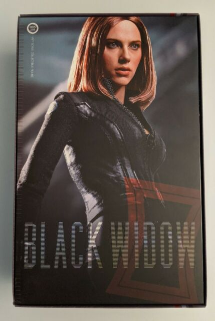 Us Hot Toys 1 6 Captain America The Winter Soldier Mms239 Black Widow For Sale Online