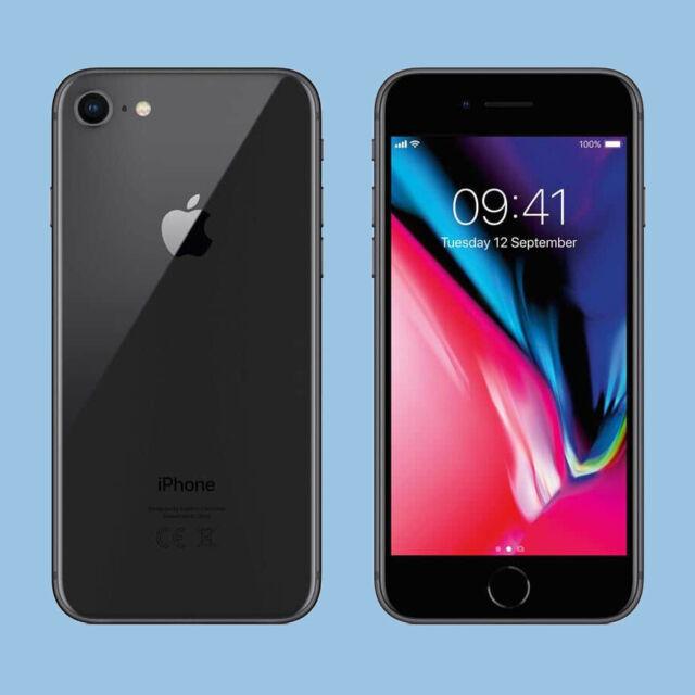 iPhone 8 - 64gb - Spacegrau Grau (Ohne Simlock) Apple Smartphone ANGEBOT!