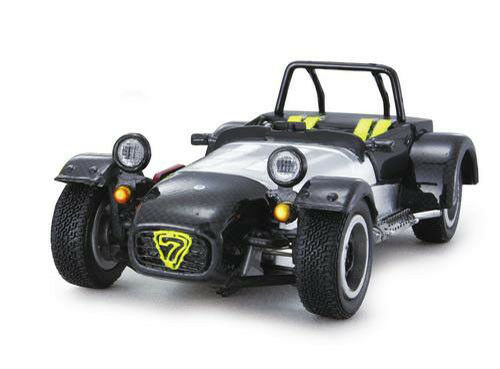 1 43 KYOSHO Catherham Super Seven Jpe GREY CARBON   ITEM  3156C