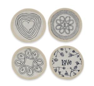 ED Ellen DeGeneres™ Azur Collection Round Coasters Set of 4