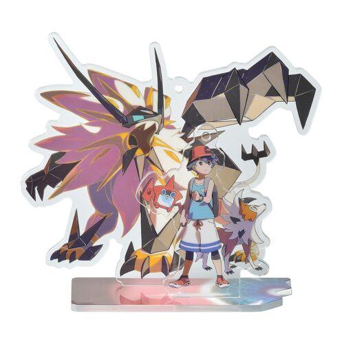 Pokemon Acrylic stand key holder Ultra Alola Adventure hero Boy Sun /& Moon JP