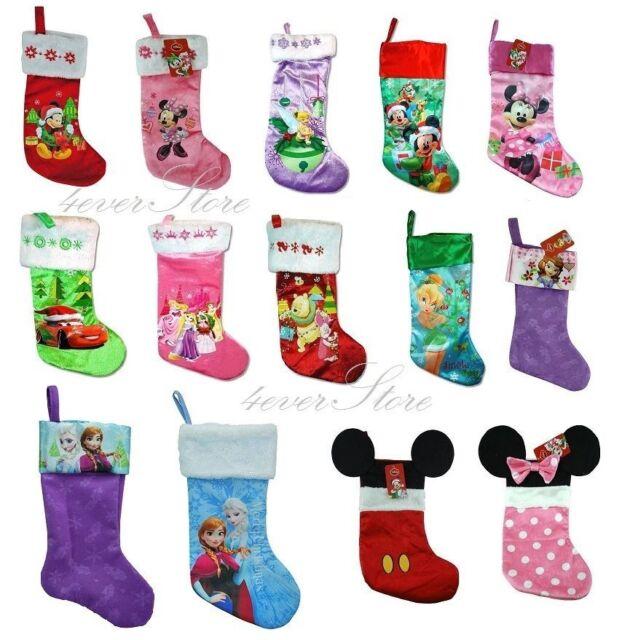 Disney Christmas Stockings Collection - Frozen, Mickey, Minnie, Sofia, princess