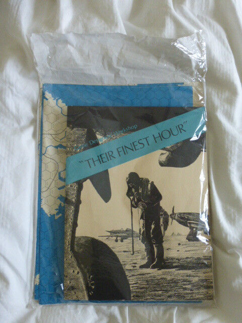 Their Finest Hour UNPUNCHED By Games Design Workshop GDW 1st Edition