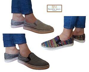 bernie mev new new new york  s verona chaussures taille * mélanges nouveaux formateurs a87765