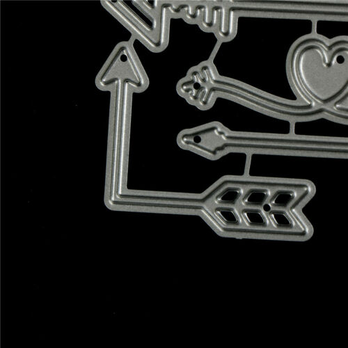 4Pcs Arrow Design Metal Cutting Dies For DIY Scrapbooking Album Paper Card  ZP