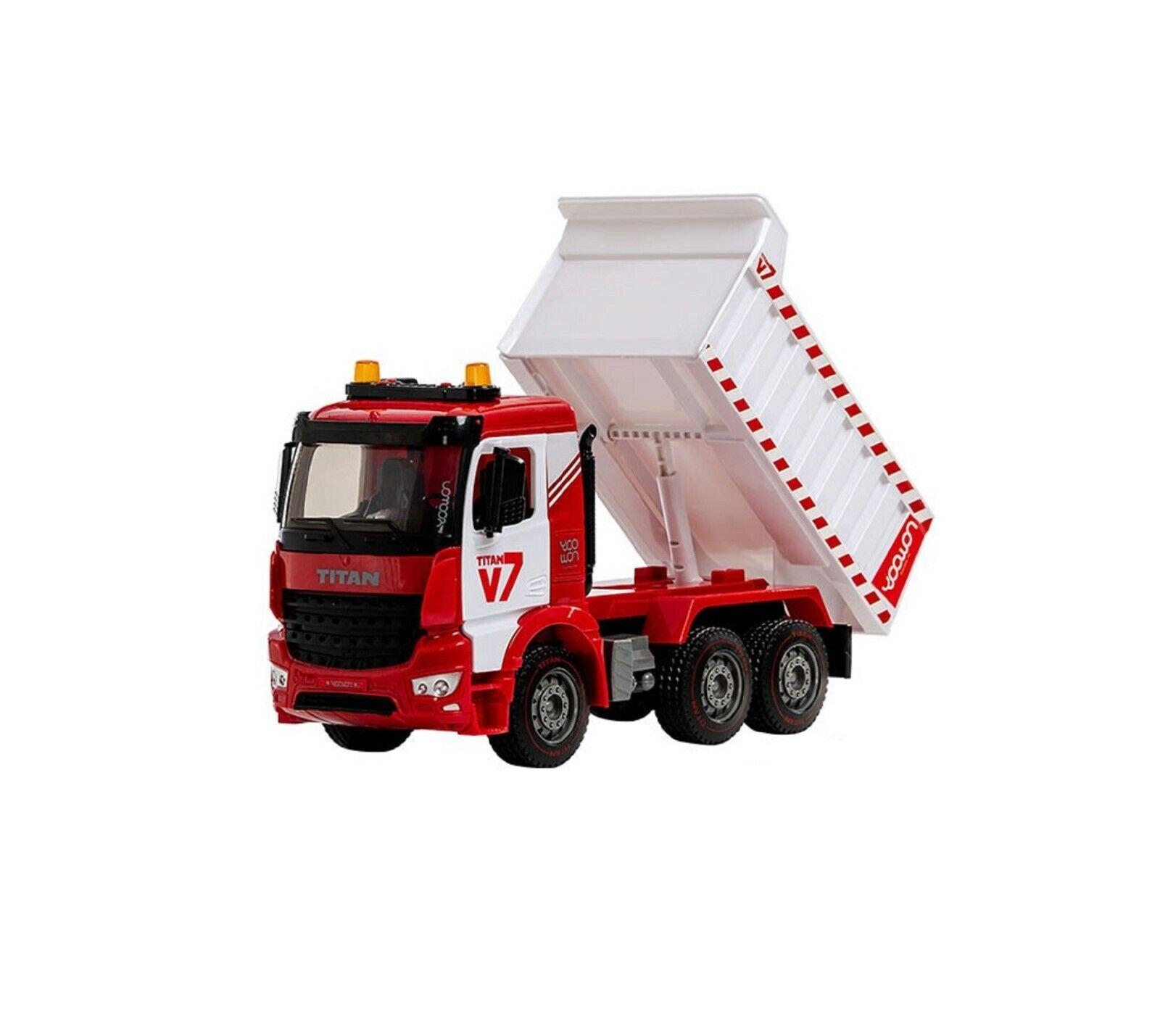 Yoowon Juguetes Titan V7 Camión Coche Vehículo Construcción Juguete de equipo pesado