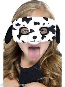 Animal face masks lion tiger cow mouse rabbit dalmation dog pig fancy dress