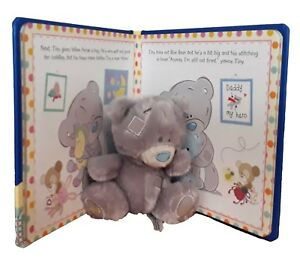 Tiny-Tatty-Teddy-Time-For-Bed-Story-Book-Soft-Teddy-Cuddly-Toy-Kids-Gift-New