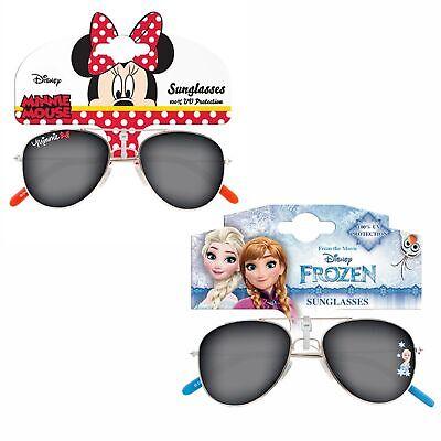 Intellective Ragazze Bambini Personaggio In Metallo Occhiali Da Sole Protezione Uv Per Le Vacanze-mostra Il Titolo Originale