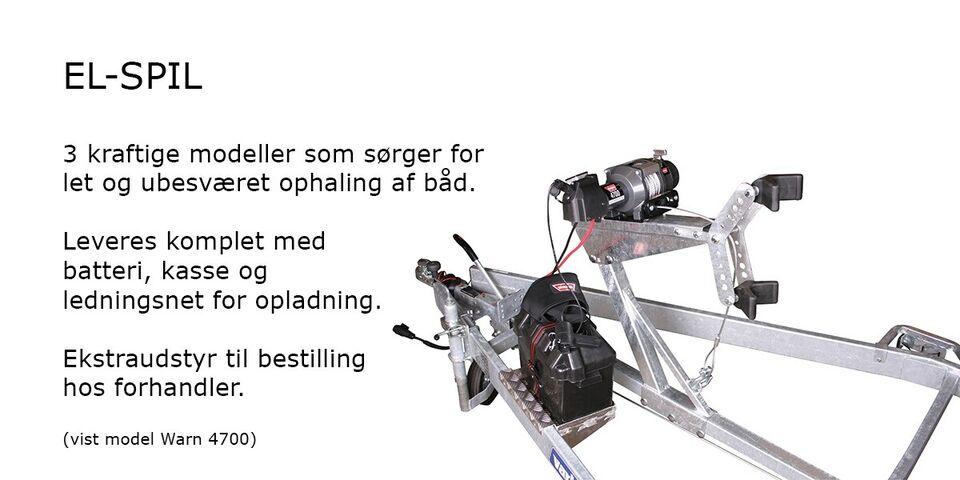 Variant 2001 BB bådtrailer m. superruller