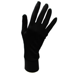 Jasmine-Silk-Pure-Silk-Liner-Gloves-Thermal-Ski-Inner-Gloves-BLACK
