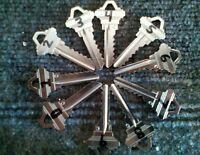 Schlage Sc1 / Sc4 Depth Keys 0-9 Locksmith Code Keys