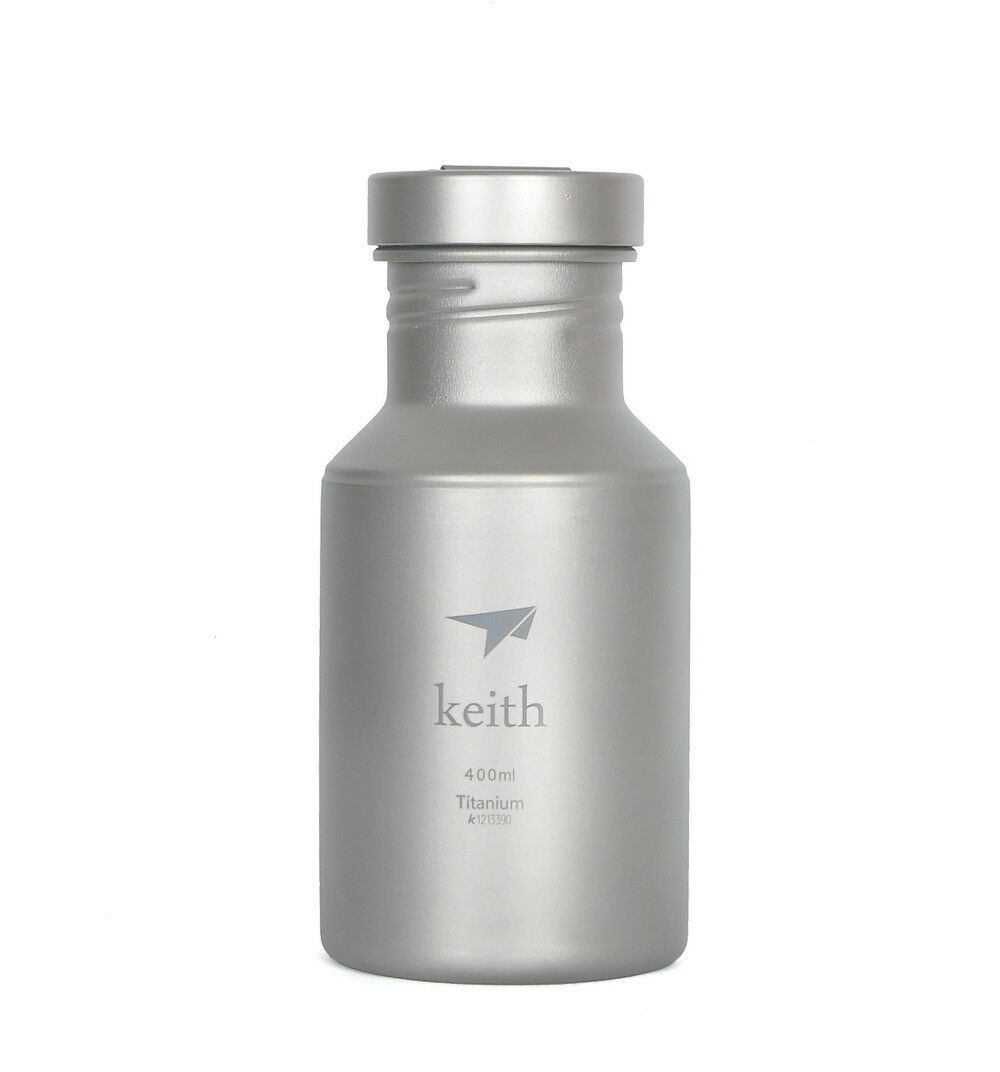Keith Sport Vacuum Flask Wide Mouth Leakproof Titanium Bottle