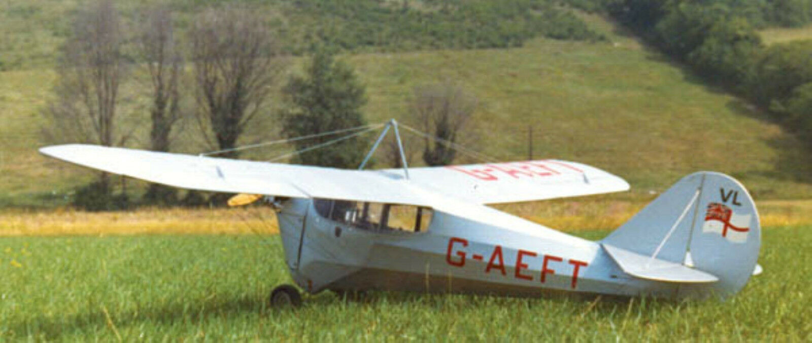 AERONCA C-3 (Spannweite 2057 mm).UL Leichtflugzeug.USA. modelllbausplan