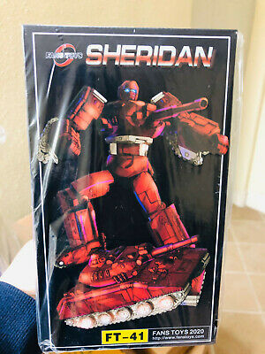 FansToys Transformers FT41 FT-41 Sheridan G1 Warpath Action figure Will arrive