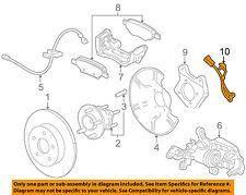 Buick GM OEM 2011 Regal ABS Anti-lock Brakes-Rear Speed Sensor 13317205