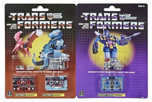 Transformers G1 Vintage Réédition 3 Pack Mini Cassettes hascon 2019 Exclusive
