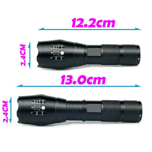 Details about  /Super Bright Zoomable Flashlight 350000LM USB Rechargeable Hand Torch Light