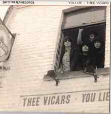 Dirty Water Records New Garage Punk Thee Vicars You Lie Gonna See Me Again