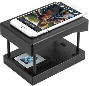 Mobile Film and Slide Scanner, Converts 35mm Slides & Negatives into Digital