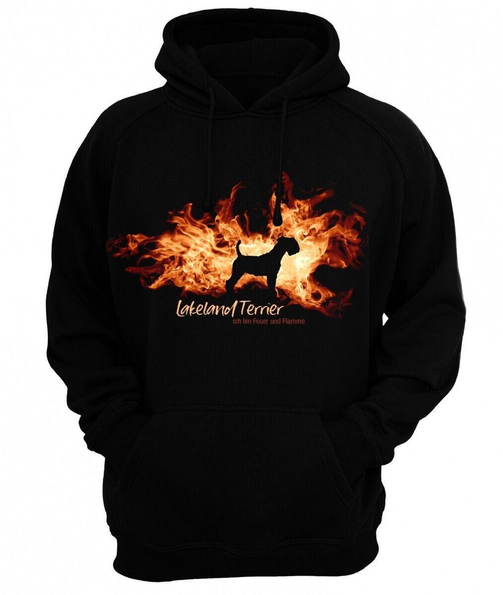 Sweatshirt LAKELAND TERRIER FEUER UND FLAMME by Siviwonder Hoodie  | Shopping Online  | Zu verkaufen  | Deutschland Online Shop