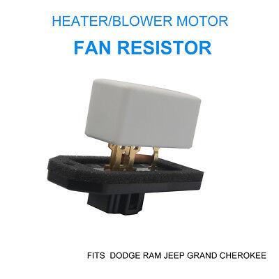 Heater//Blower Motor Fan Resistor Fits Dodge Ram Jeep Grand Cherokee 4720278
