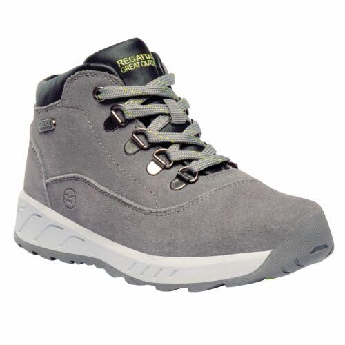 Regatta Kids/' Grimshaw Mid Walking Boots Grey