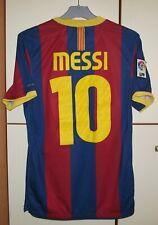 33048e12e FC Barcelona 2010 - 2011 Home football shirt jersey Camiseta Nike  10 Messi  S