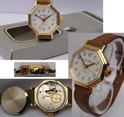 Ungetragene Mechanische Uhr Von Ruhla Lagerware Im Originalkarton Kal. M 24