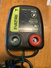 Patriot Pe10 Fence Energizer Electric Fence 40 Acres 10 Miles Euc Tested