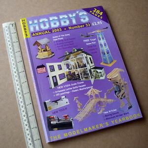2003-Hobby-039-s-Annual-Catalogue-33-Dolls-Houses-Horse-Drawn-Boats-Lineside-Clocks