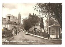 CORLETO PERTICARA  ( Potenza )  -  Via Pietro Lacava + chiosco benzina AGIP
